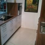 Küche in der Ausstellung bei Reddy