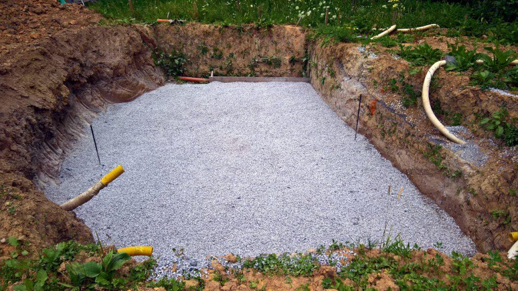 Loch im Garten