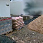 Material zum Mauerbau